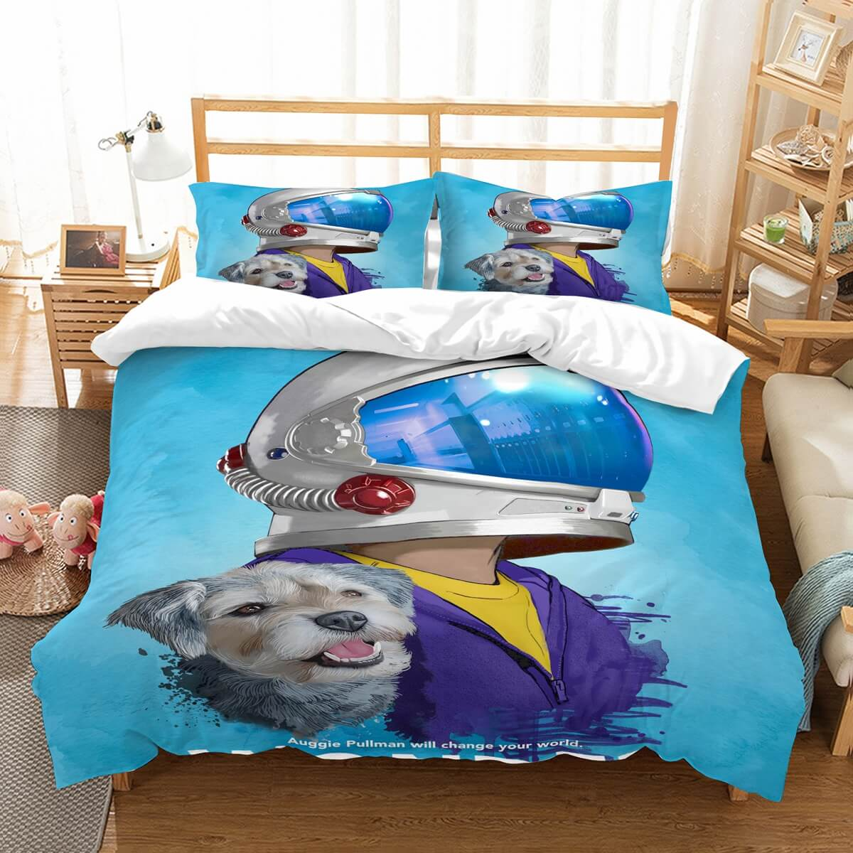 3D Customize Wonder Bedding Set Duvet Cover Set Bedroom Set Bedlinen