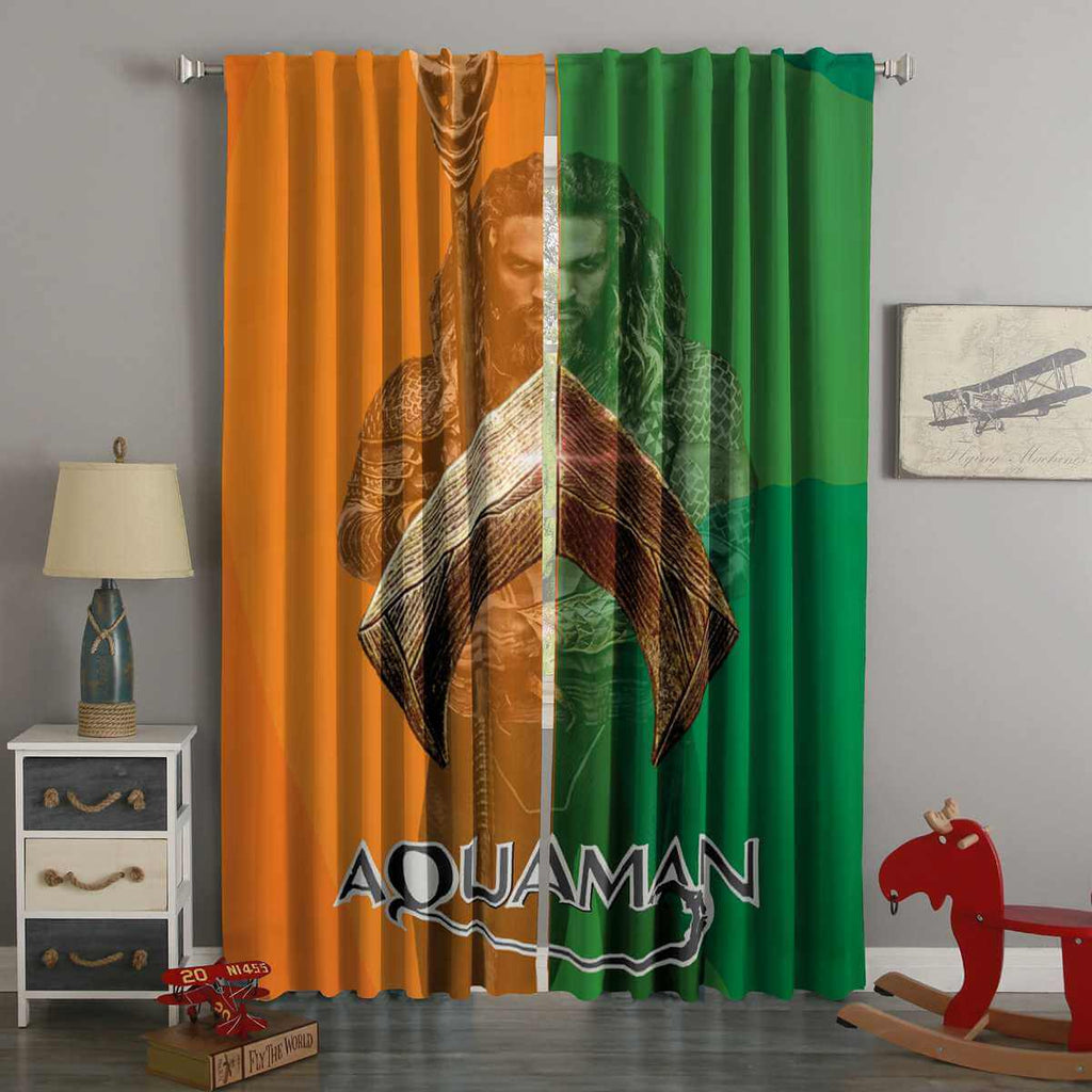 3D Printed Aquaman Style Custom Living Room Curtains