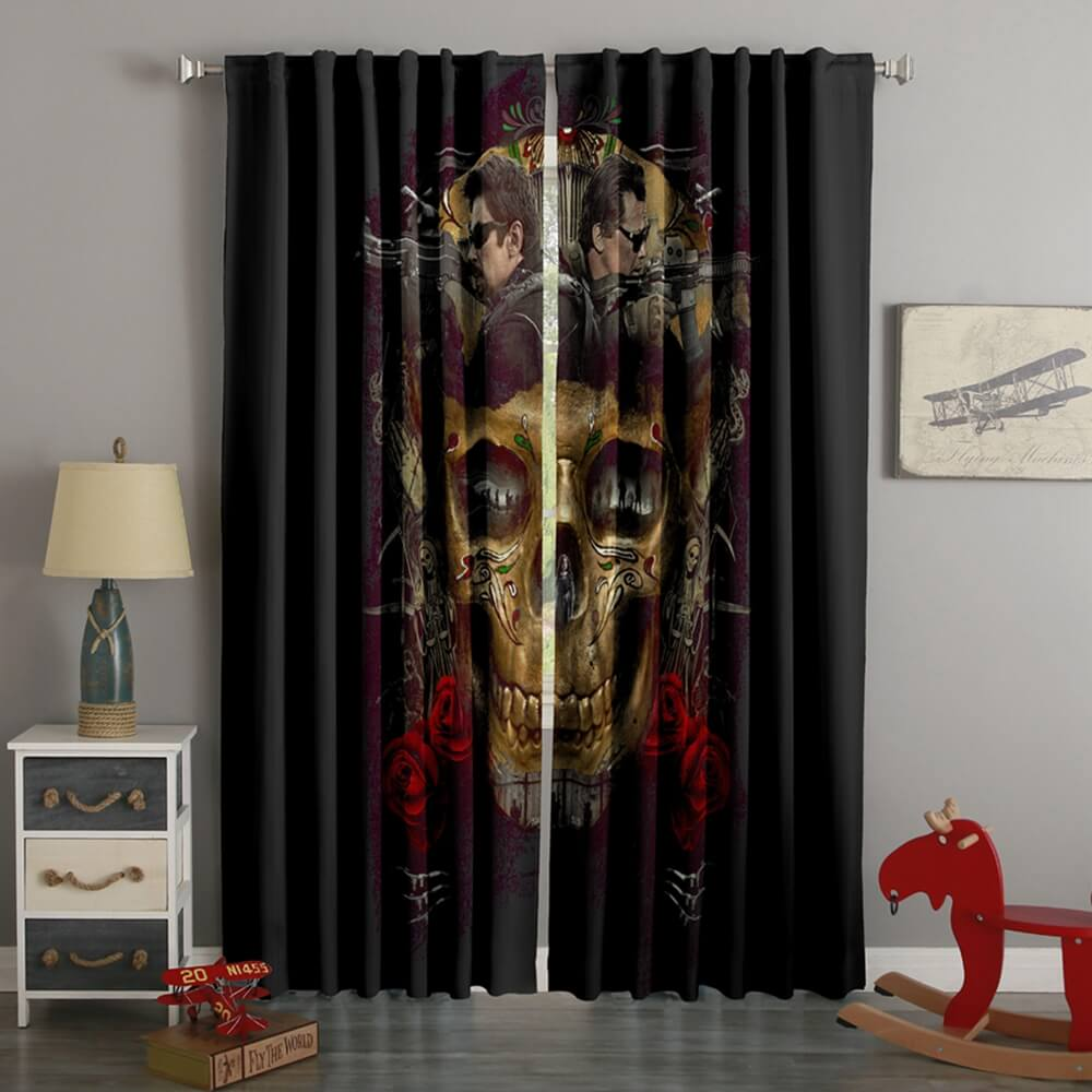 3D Printed Sicario Day Of The Soldado Style Custom Living Room Curtains
