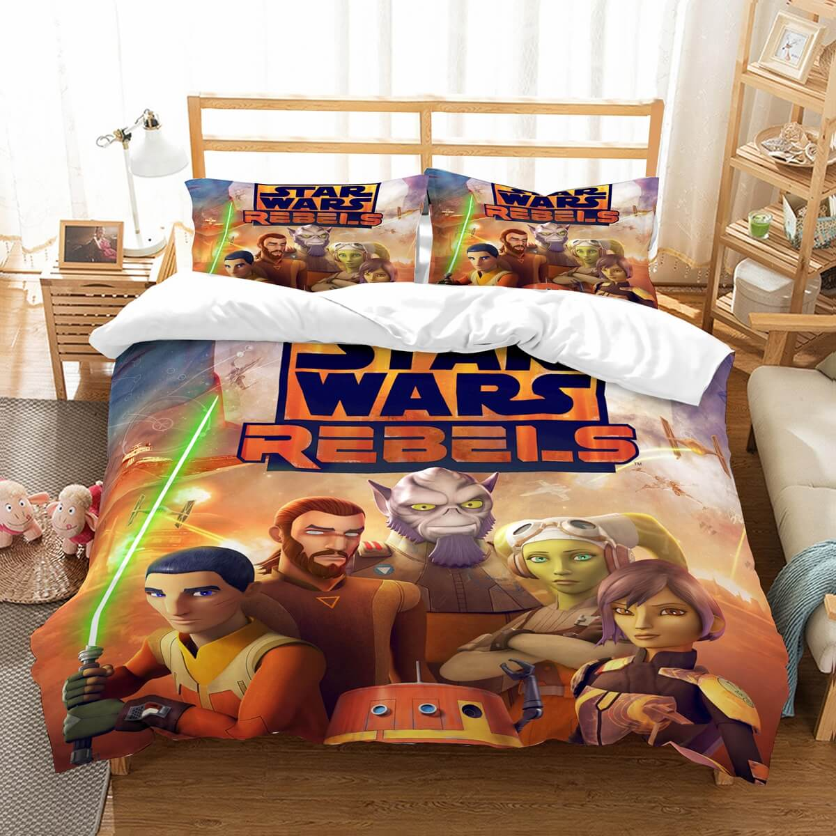 3D Customize Star Wars Rebels Bedding Set Duvet Cover Set Bedroom Set Bedlinen