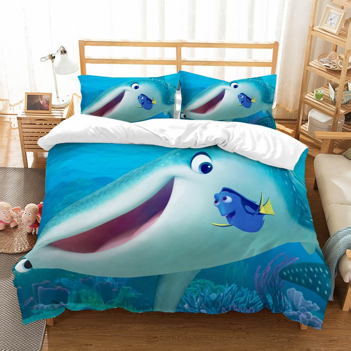 3D Customize  Finding Dory Bedding Set Duvet Cover Set Bedroom Set Bedlinen