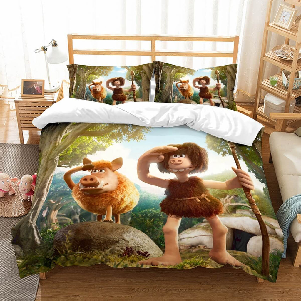 3D Customize Early Man Bedding Set Duvet Cover Set Bedroom Set Bedlinen