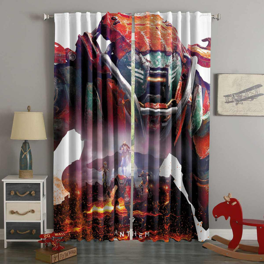 3D Printed Anthem Style Custom Living Room Curtains