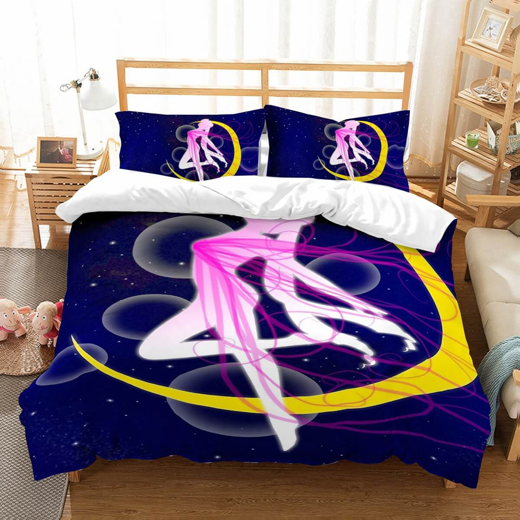 3D Customize  Sailor Moon Bedding Set Duvet Cover Set Bedroom Set Bedlinen