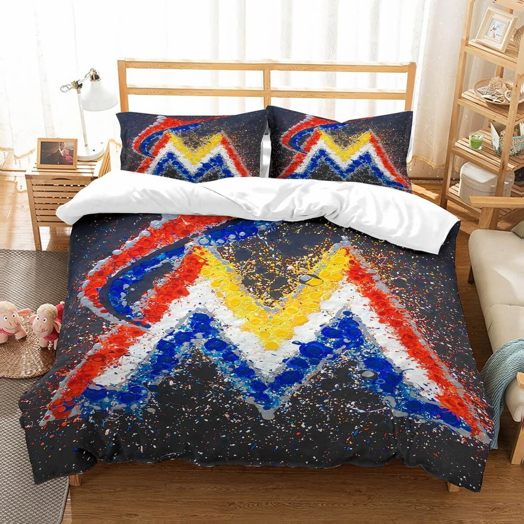 3D Customize Marlins Bedding Set Duvet Cover Set Bedroom Set Bedlinen