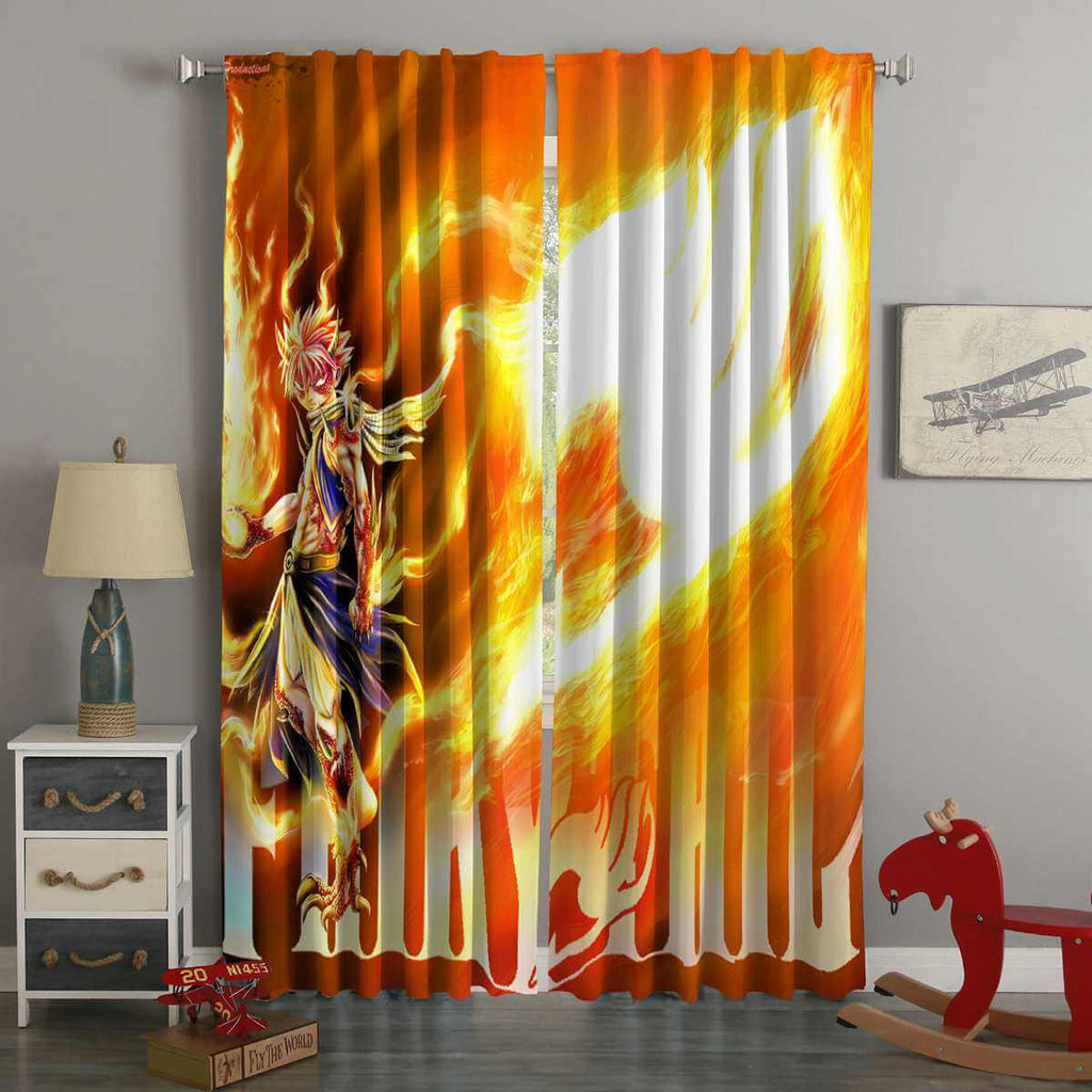 3D Printed Fairy Tail Style Custom Living Room Curtains