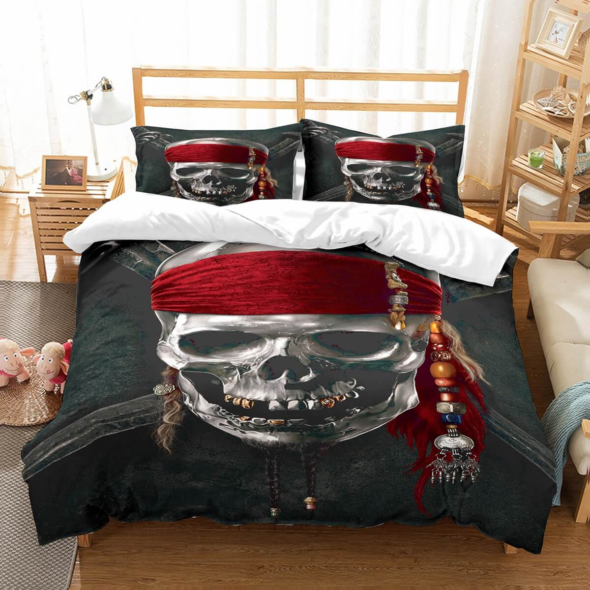 3D Customize Pirates Of The Caribbean Bedding Set Duvet Cover Set Bedroom Set Bedlinen