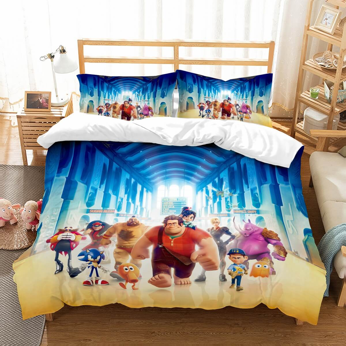 3D Customize Wreck It Ralph Bedding Set Duvet Cover Set Bedroom Set Bedlinen