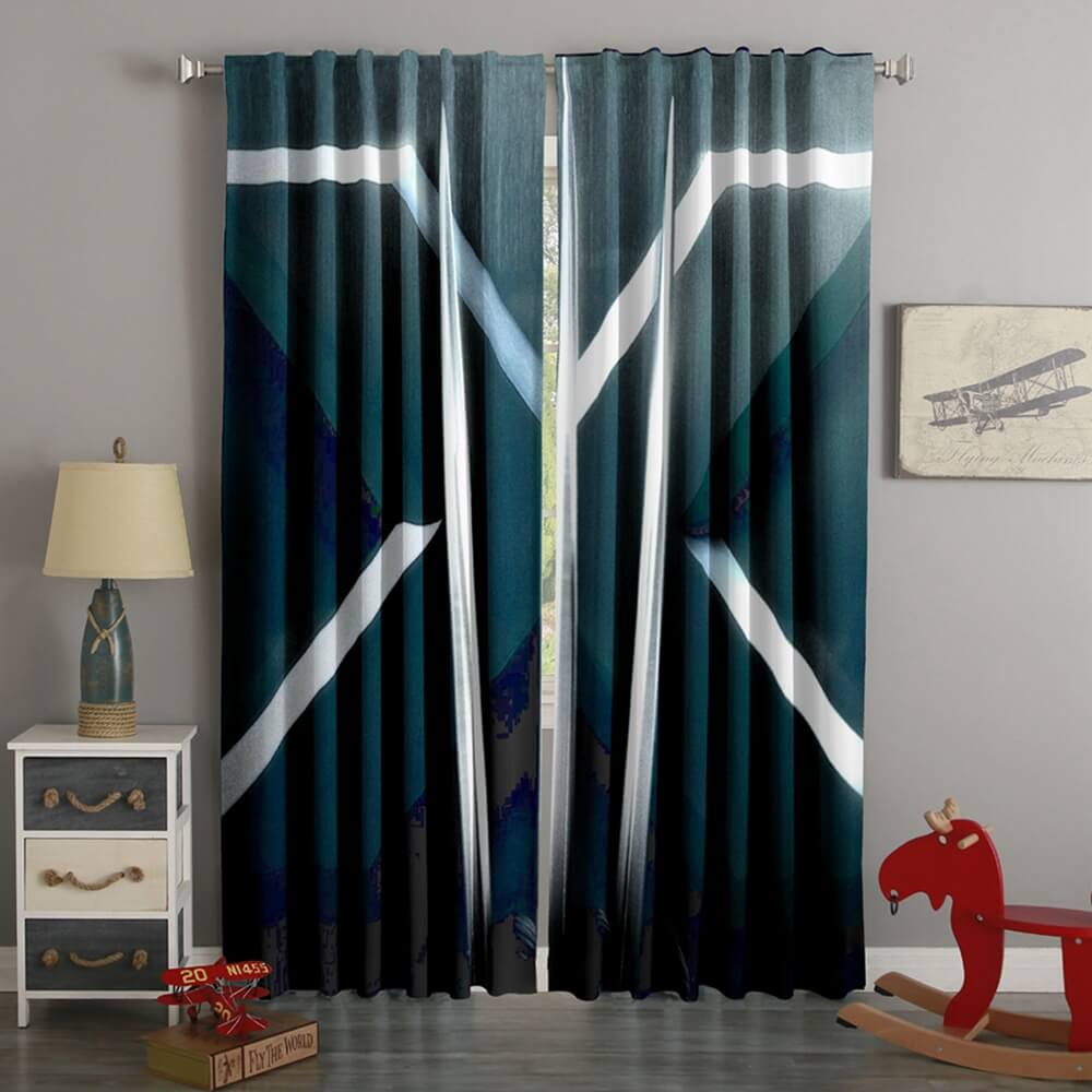 3D Printed X-Men Style Custom Living Room Curtains