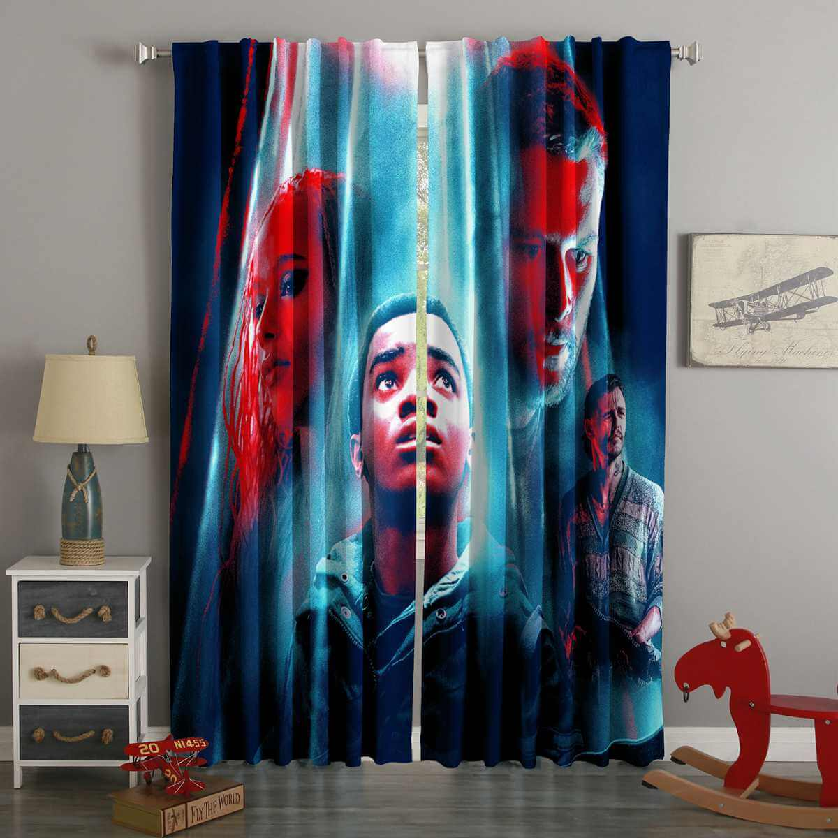 3D Printed Kin Style Custom Living Room Curtains