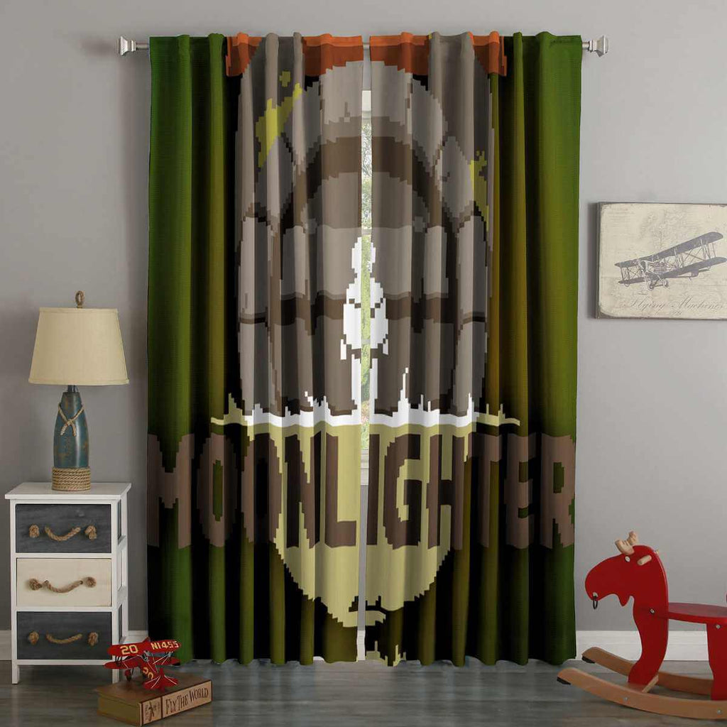 3D Printed Moonlighter Style Custom Living Room Curtains