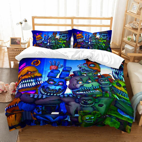 3D Customize The Five Nights At Freddy's Bedding Set Duvet Cover Set Bedroom Set Bedlinen