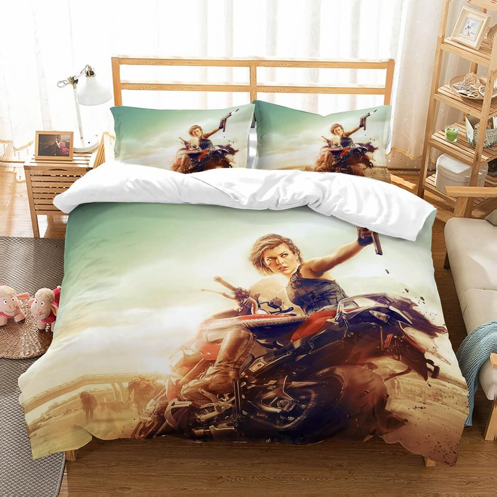 3D Customize Resident Evil Bedding Set Duvet Cover Set Bedroom Set Bedlinen