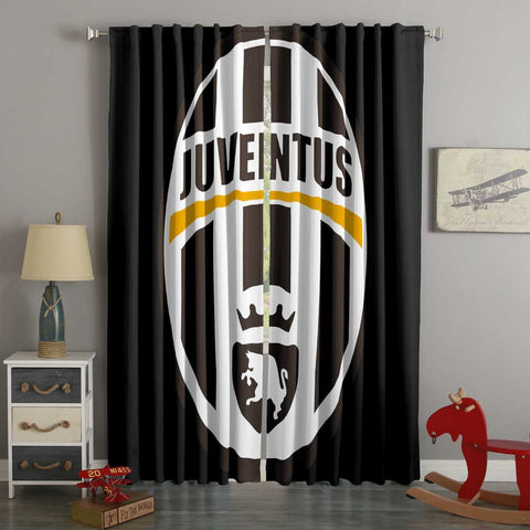 3D Printed Juventus Style Custom Living Room Curtains