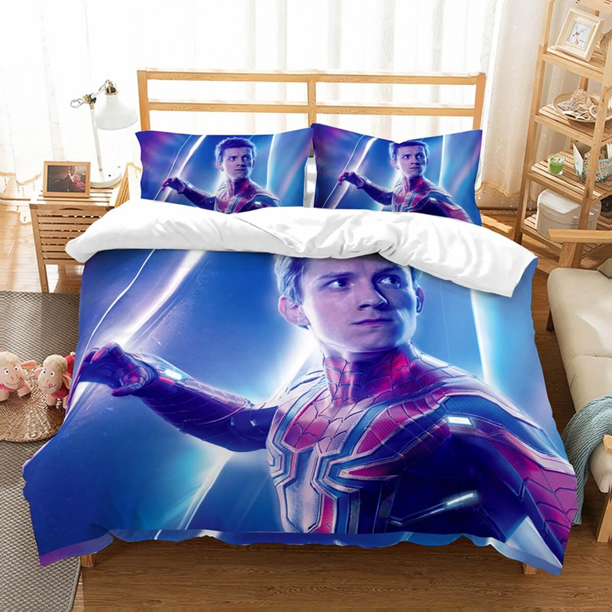 3D Customize Avengers Infinity War Spider Man Bedding Set Duvet Cover Set Bedroom Set Bedlinen