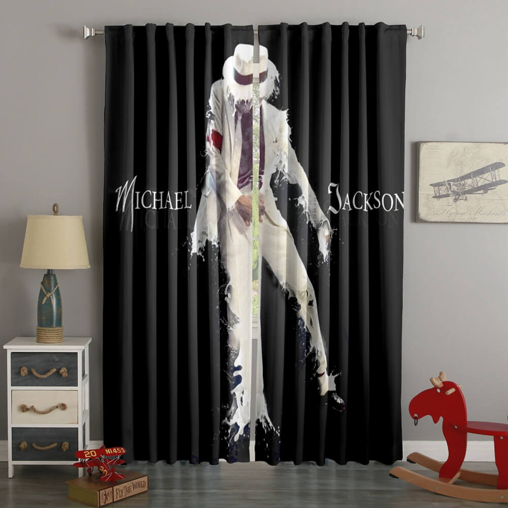 3D Printed Michael Jackson Style Custom Living Room Curtains