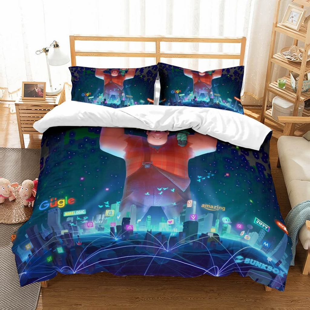 3D Customize Wreck It Ralph 2 Bedding Set Duvet Cover Set Bedroom Set Bedlinen