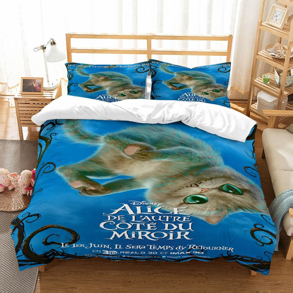 3D Customize Alice In Wonderland Bedding Set Duvet Cover Set Bedroom Set Bedlinen