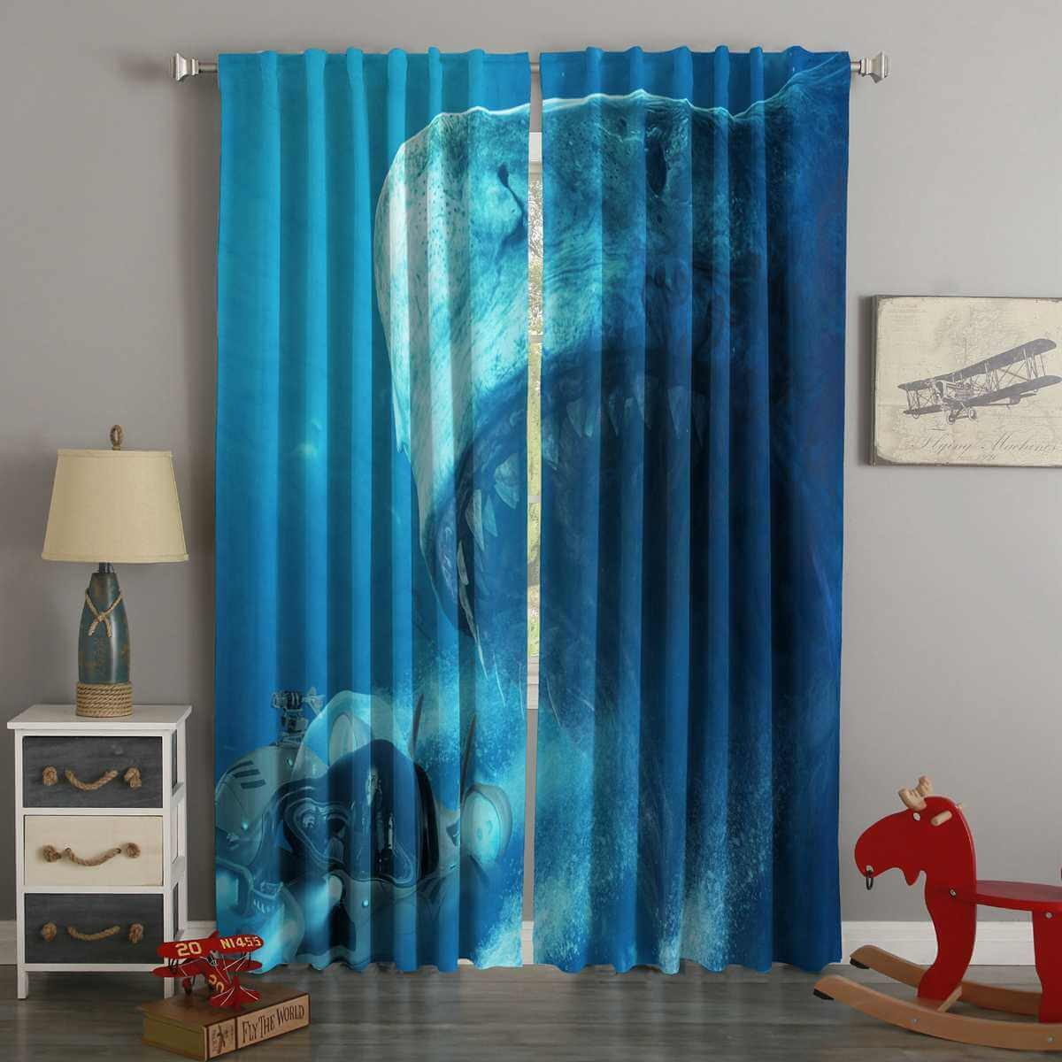 3D Printed The Meg Style Custom Living Room Curtains