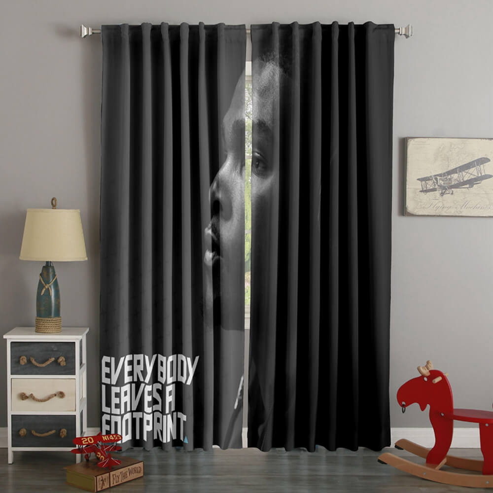 3D Printed Kevin Durant Style Custom Living Room Curtains
