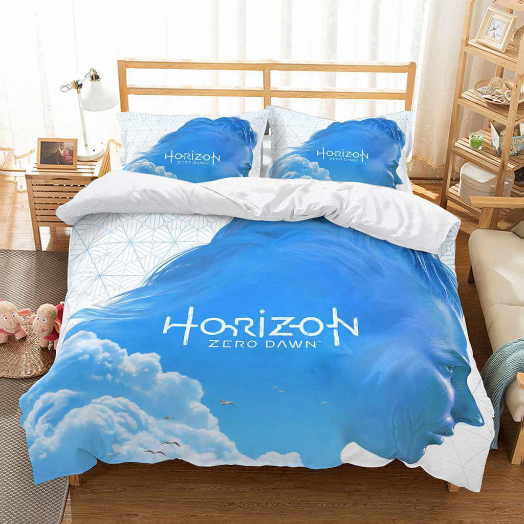 3D Customize Horizon Zero Dawn Bedding Set Duvet Cover Set Bedroom Set Bedlinen