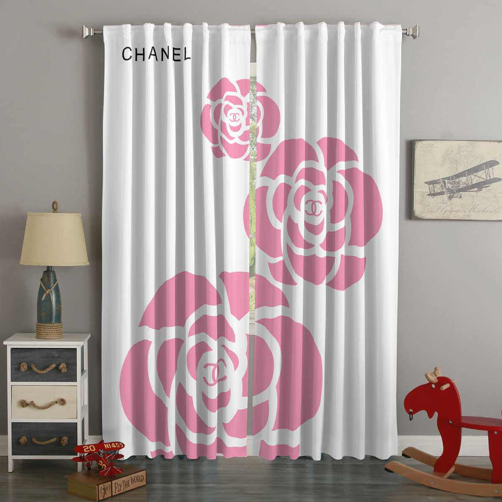 3D Printed Chanel Style Custom Living Room Curtains