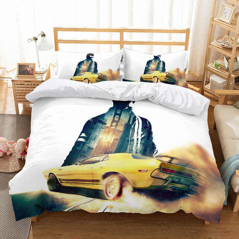 3D Customize Driver San Francisco Bedding Set Duvet Cover Set Bedroom Set Bedlinen