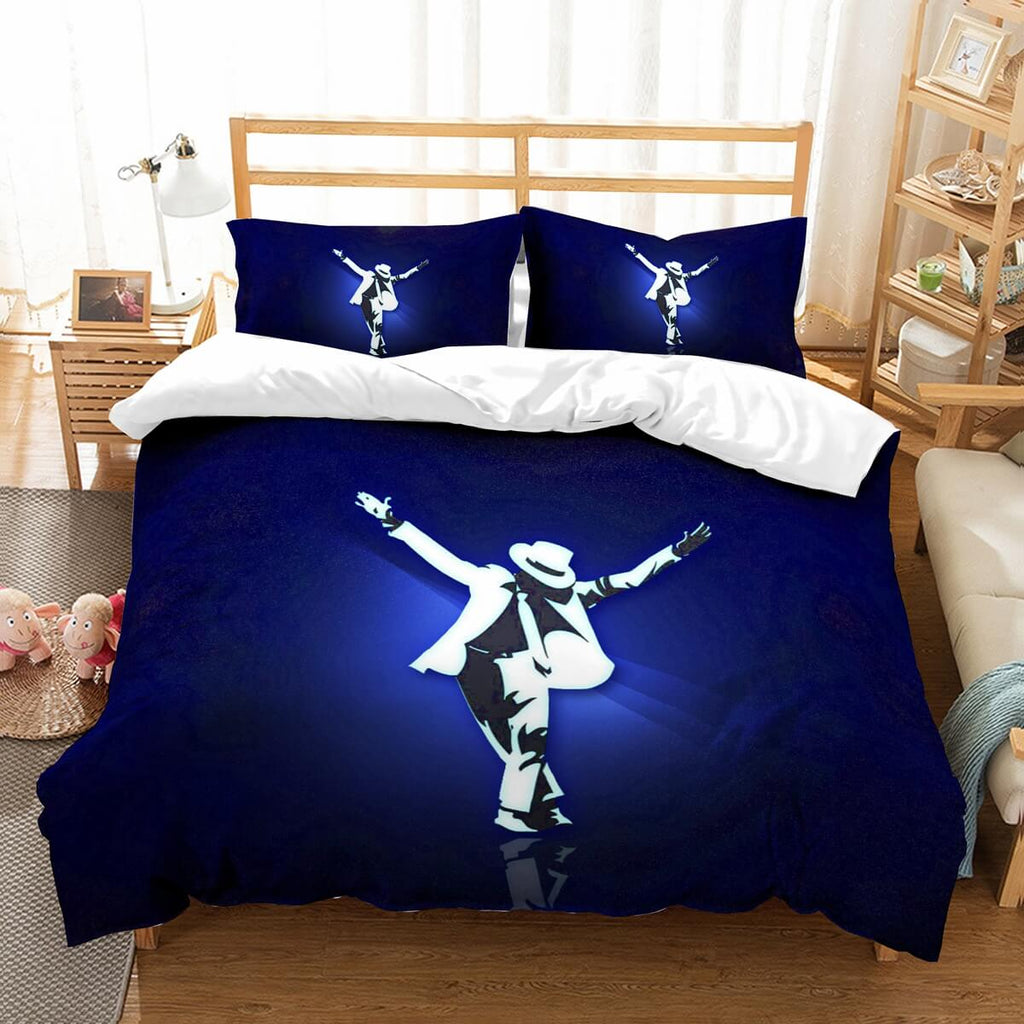 3D Customize Michael Jackson Bedding Set Duvet Cover Set Bedroom Set Bedlinen