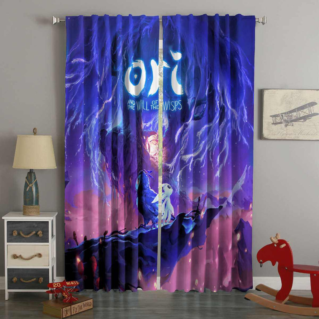 3D Printed Ori and the Will of the Wisps Custom Living Room Curtains