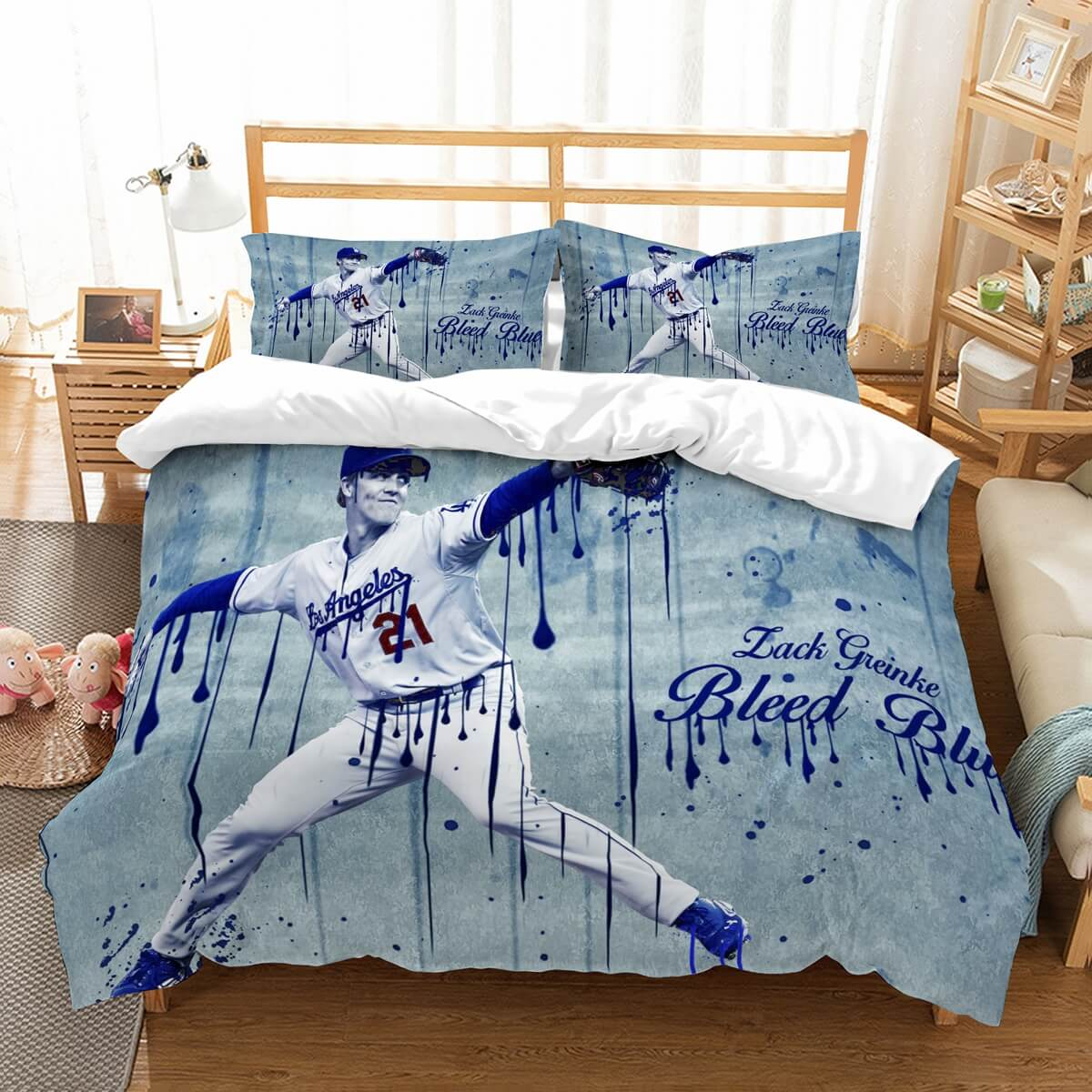 3D Customize Zach Grinko Arizona Diamondbacks Bedding Set Duvet Cover Set Bedroom Set Bedlinen