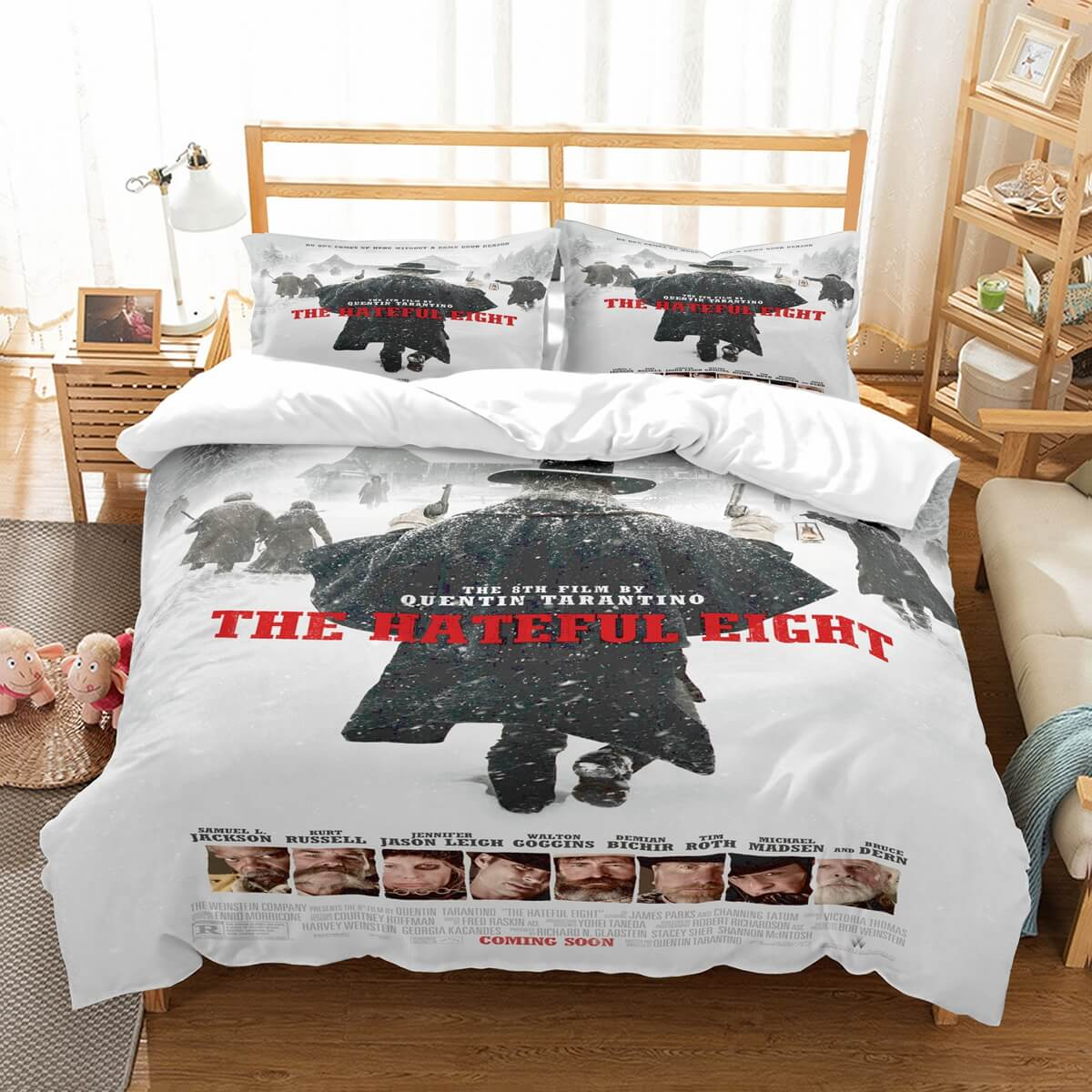 3D Customize The Hateful Eight Bedding Set Duvet Cover Set Bedroom Set Bedlinen