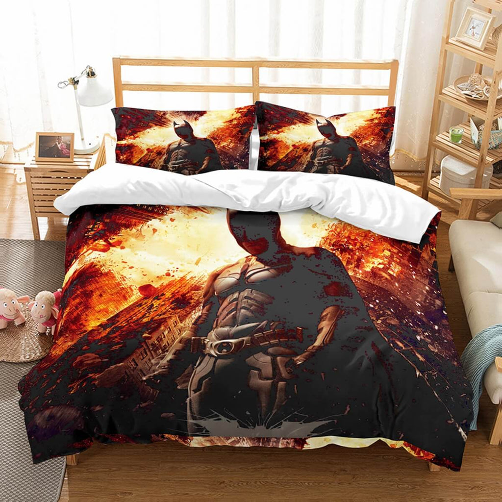 3D Customize Batman Bedding Set Duvet Cover Set Bedroom Set Bedlinen