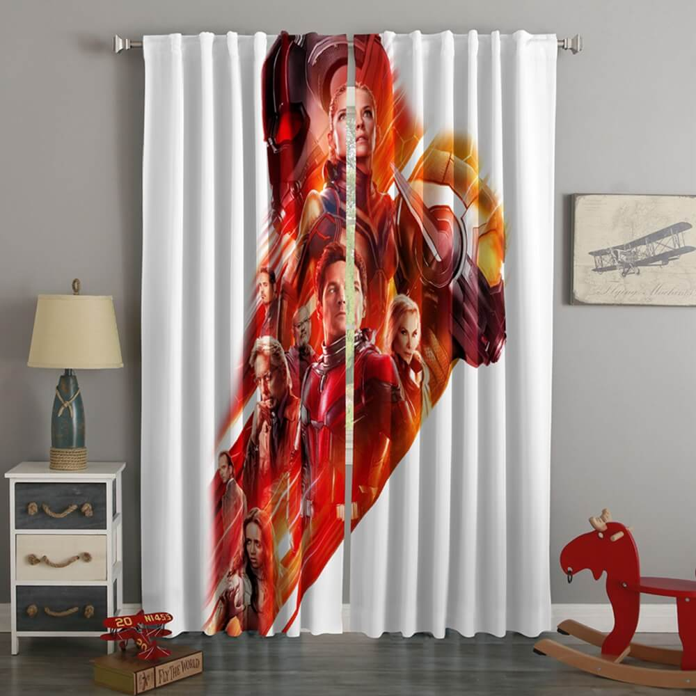 3D Printed Ant-Man And The Wasp Style Custom Living Room Curtains