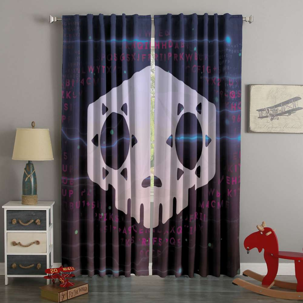 3D Printed Overwatch Style Custom Living Room Curtains