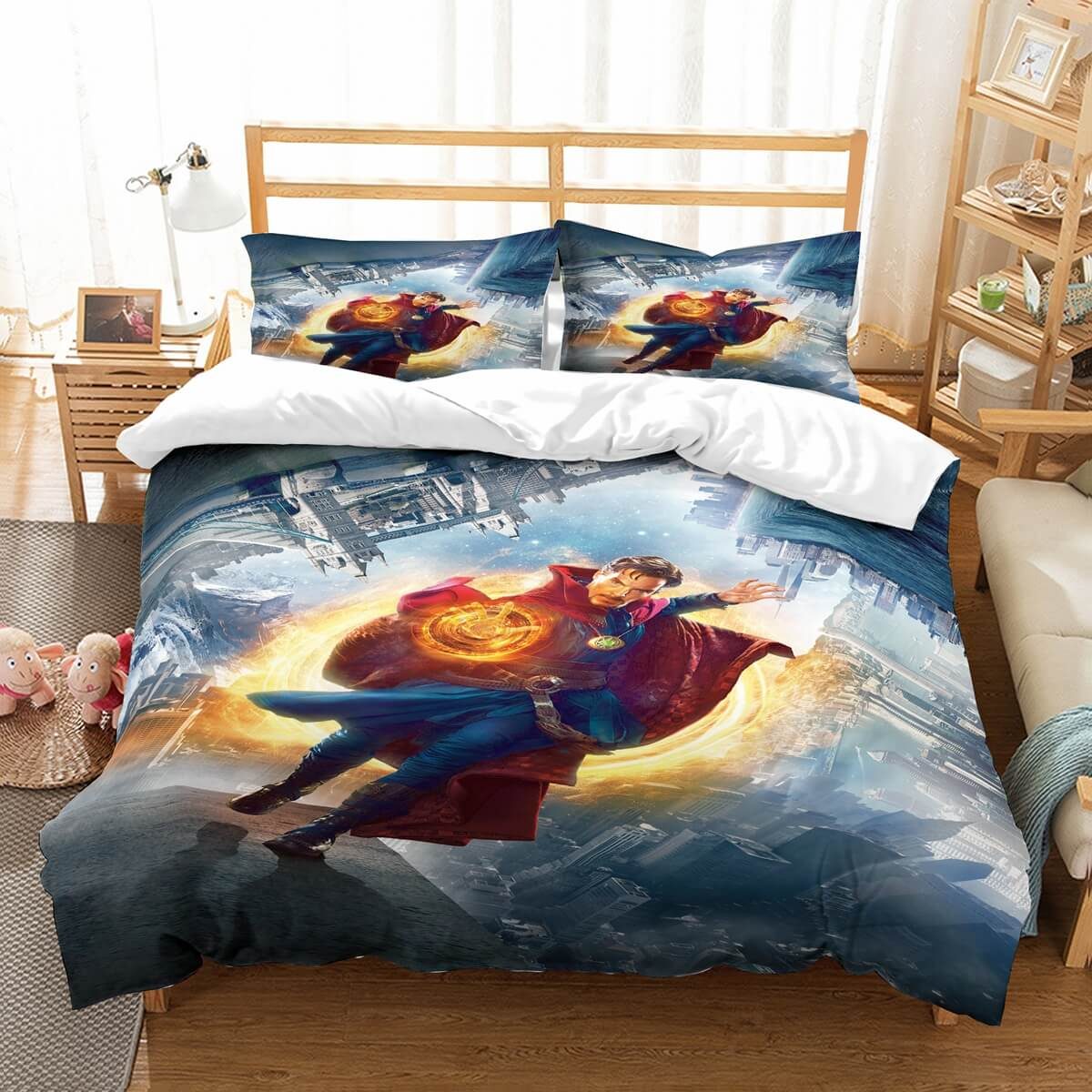 3D Customize Doctor Strange Bedding Set Duvet Cover Set Bedroom Set Bedlinen