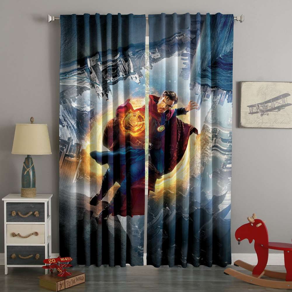 3D Printed Doctor Strange Custom Living Room Curtains