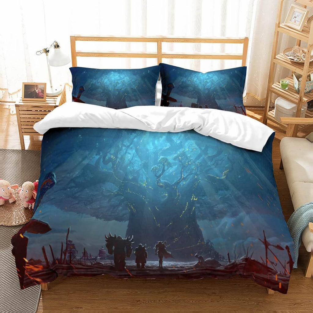 3D Customize World Of Warcraft Bedding Set Duvet Cover Set Bedroom Set Bedlinen