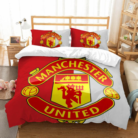 3D Customize Manchester United Bedding Set Duvet Cover Set Bedroom Set Bedlinen