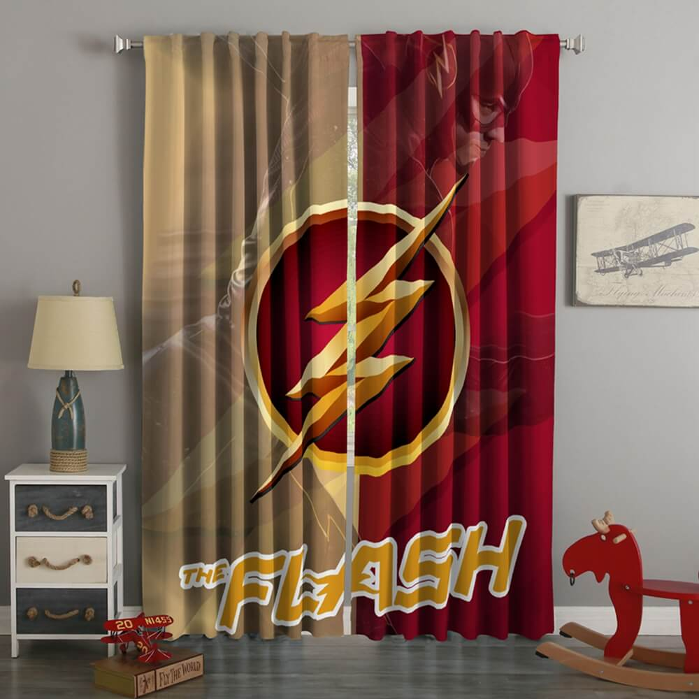 3D Printed The Flash Style Custom Living Room Curtains