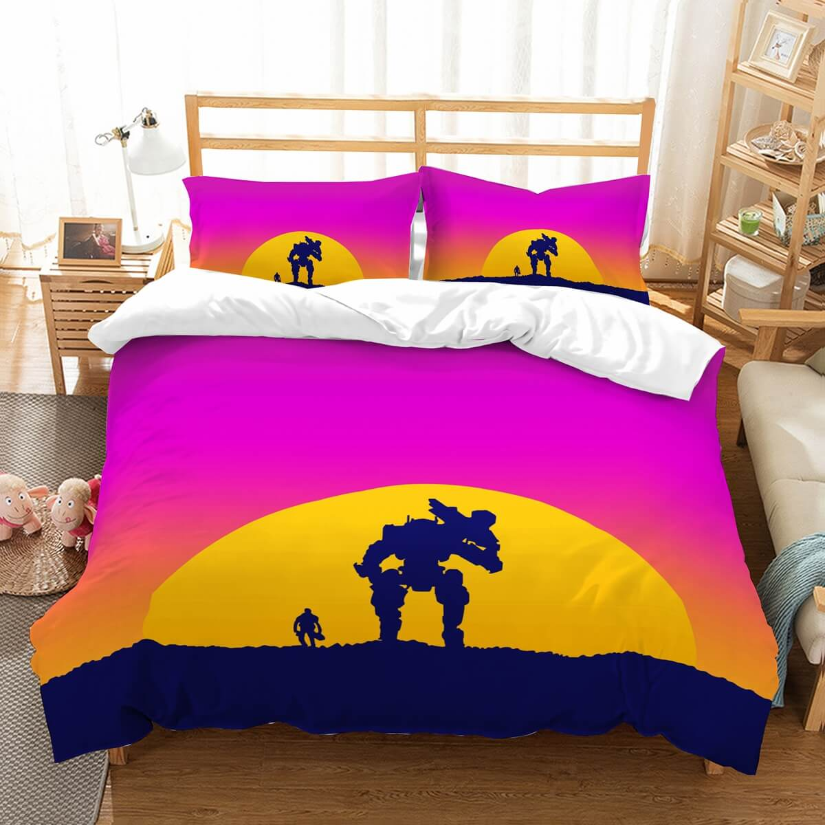 3D Customize Titanfall 2 Bedding Set Duvet Cover Set Bedroom Set Bedlinen