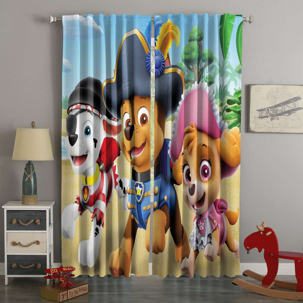 3D Printed PAW Style Custom Living Room Curtains
