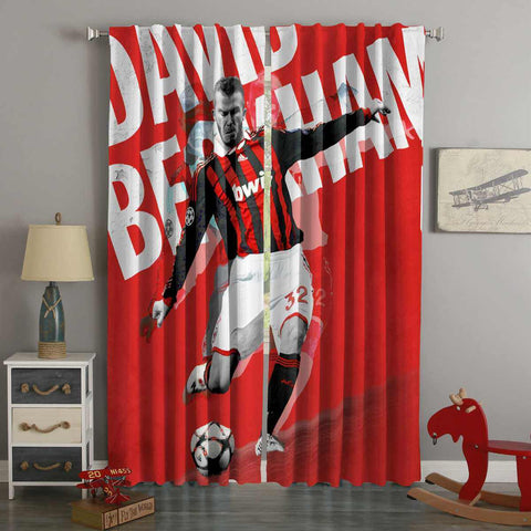 3D Printed David Beckham Style Custom Living Room Curtains