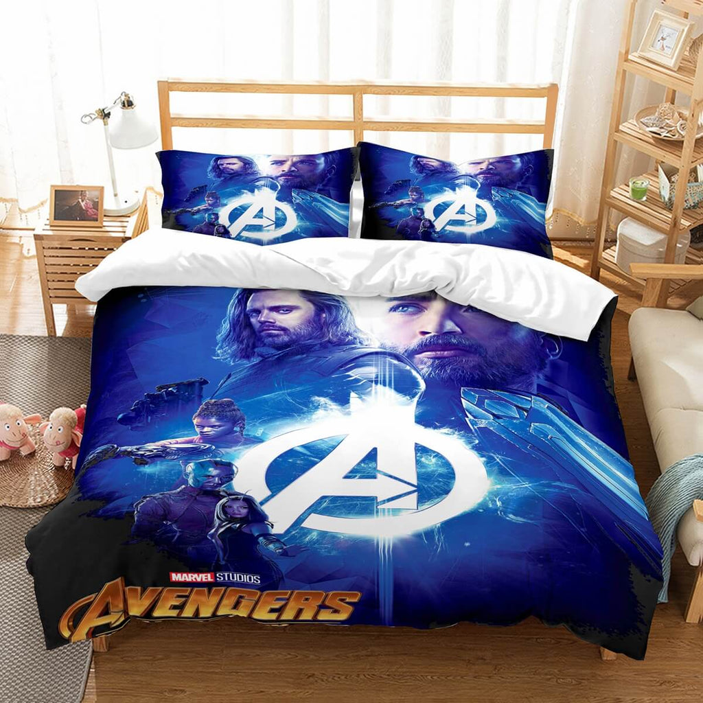 3D Customize Avengers Infinity War Bedding Set Duvet Cover Set Bedroom Set Bedlinen