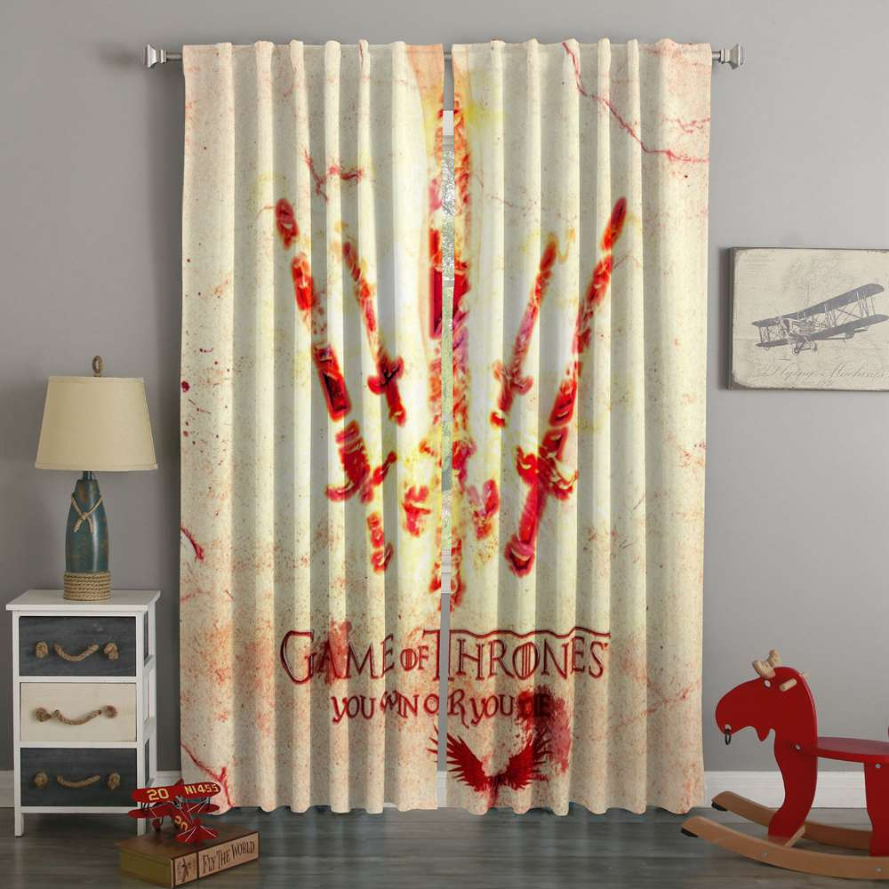 3D Printed Game Of Thrones Style Custom Living Room Curtains