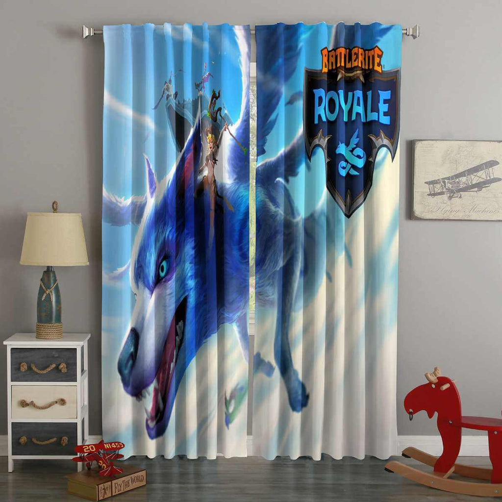 3D Printed Battlerite Royale Style Custom Living Room Curtains