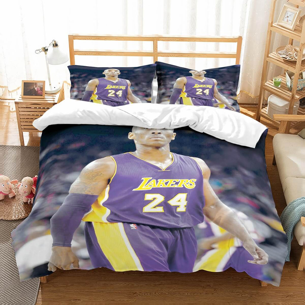 3D Customize Kobe Bryant Bedding Set Duvet Cover Set Bedroom Set Bedlinen