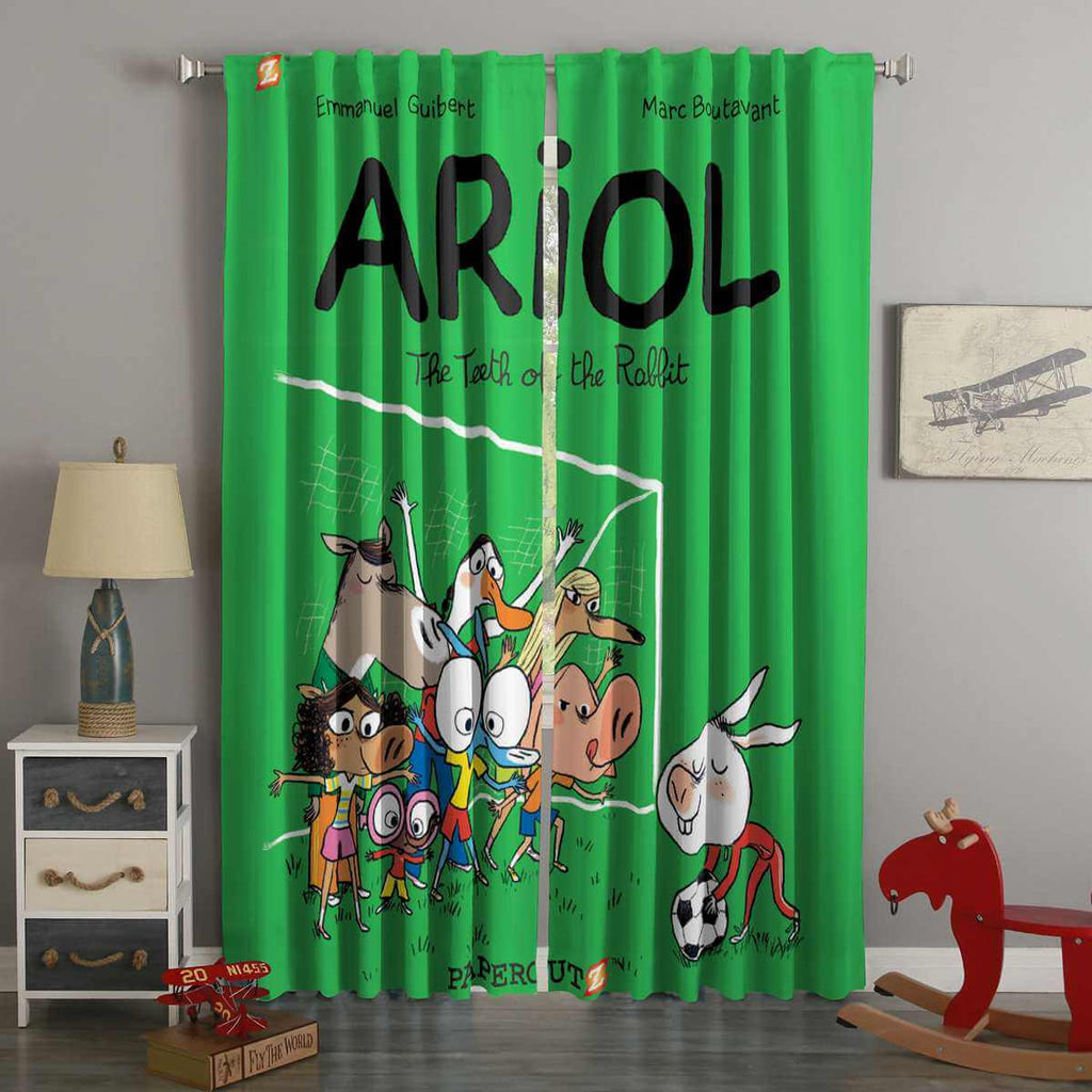 3D Printed Ariol Style Custom Living Room Curtains