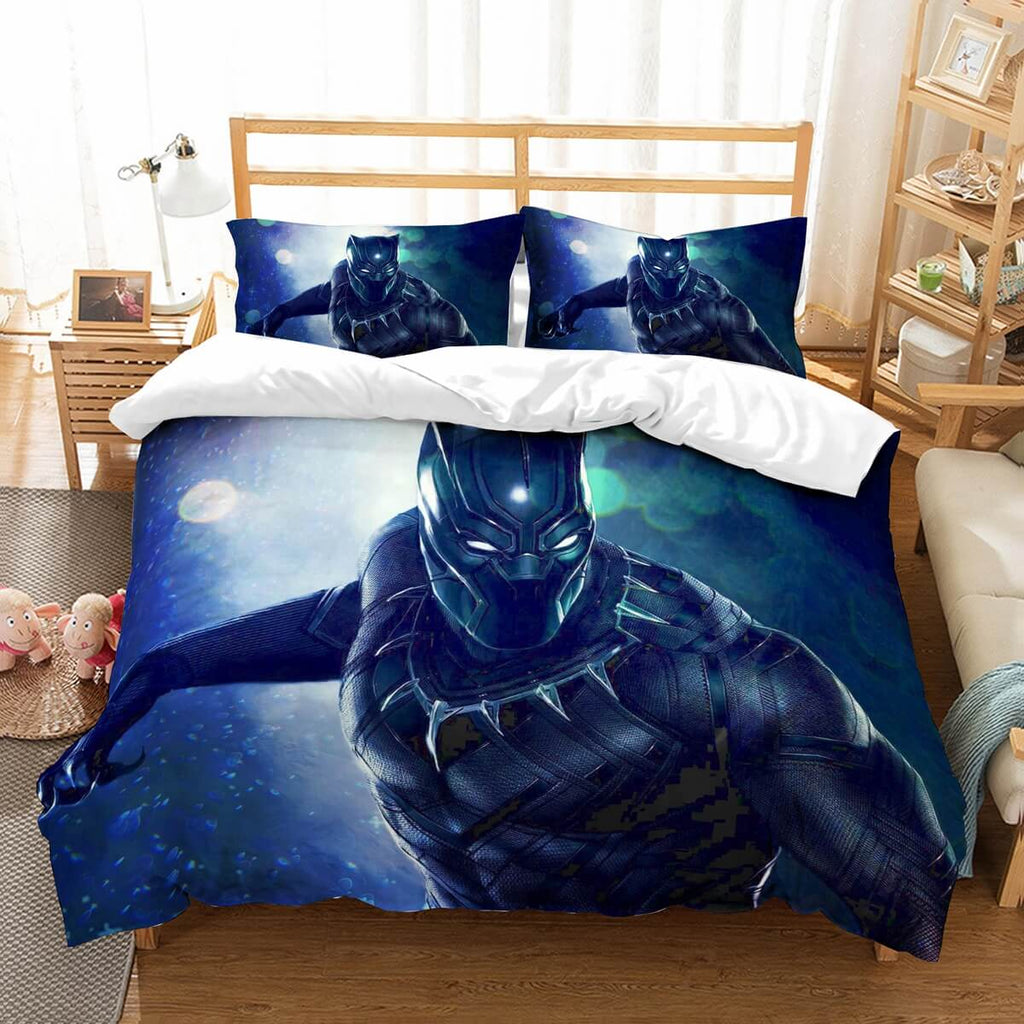 3D Customize Black Panther Bedding Set Duvet Cover Set Bedroom Set Bedlinen