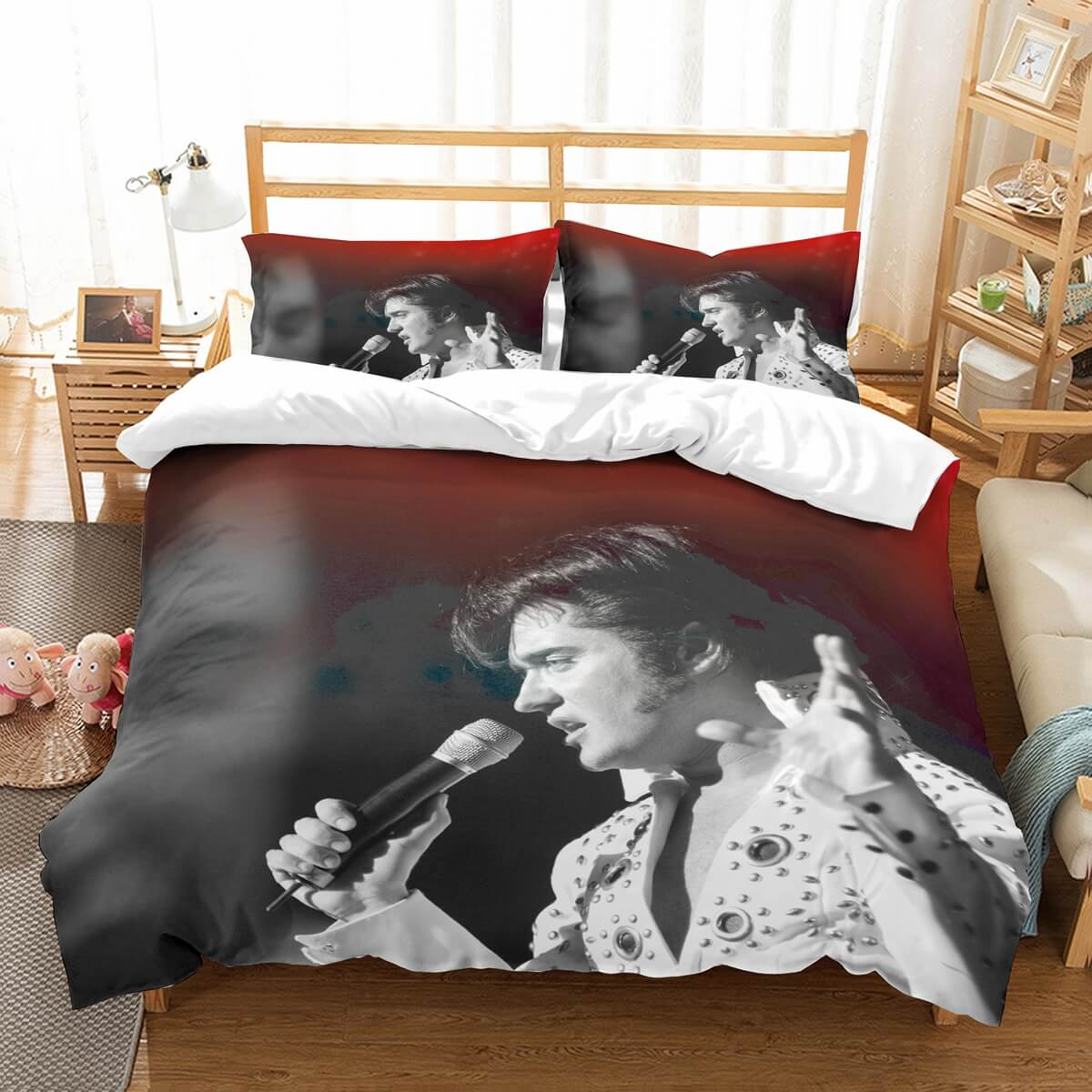 Elvis Presley Bedding Sets.3d Customize Elvis Presley Bedding Set Duvet Cover Set Bedroom Set Bedlinen 3d Customize Elvis Presley Bedding Set Duvet Cover Set Bedroom Set
