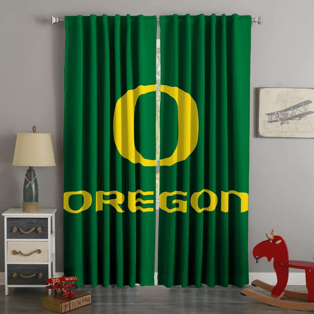 3D Printed Oregon Duck Style Custom Living Room Curtains